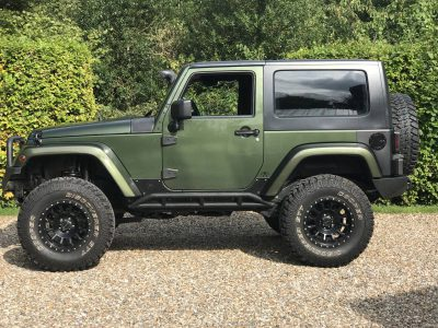 Jeep Wrangler 2 8crd With 4 5 Inch Old Man Emu Suspension